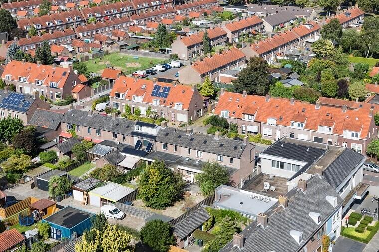 Burenrecht luchtfoto